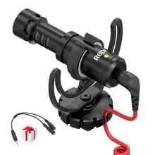 Rode originales VideoMicro Micrófono/Micrófono Micrófono De la Cámara para Canon Nikon Sony Lumix (Envío TRS a TRRS adaptador de Cable)