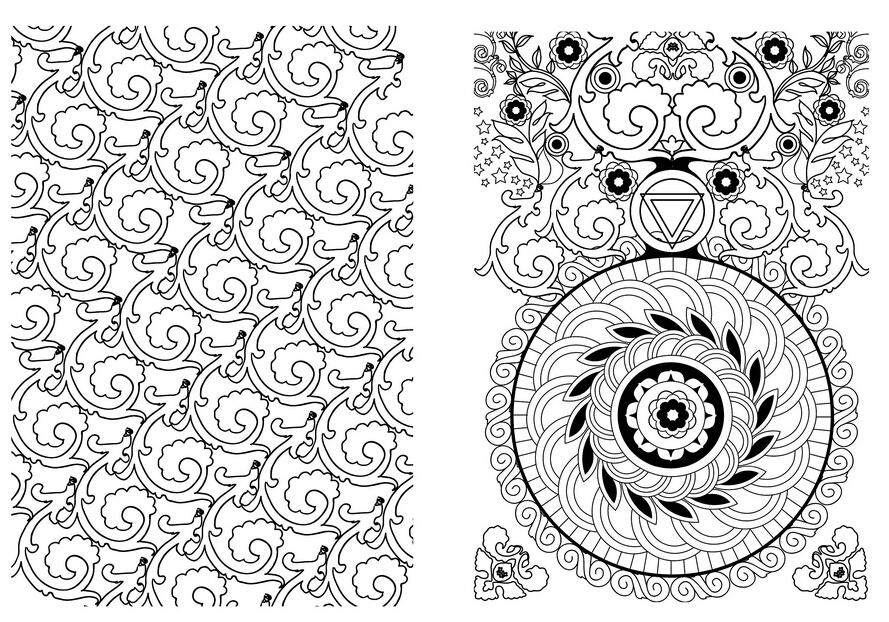 Coloring Books For Adults Art Therapie Mandala 100 Coloriages Anti Stresscoloring Book Grown UpChinese Original In From Office School