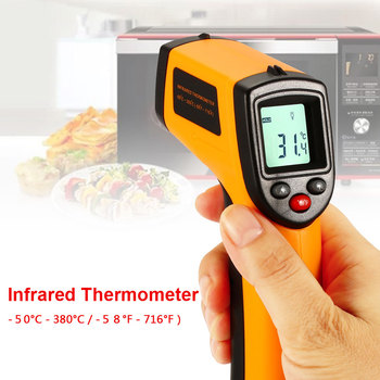 Non-Contact Hot Handheld IR Infrared Temperature Gun w Thermometer Laser Point bicycle pedal