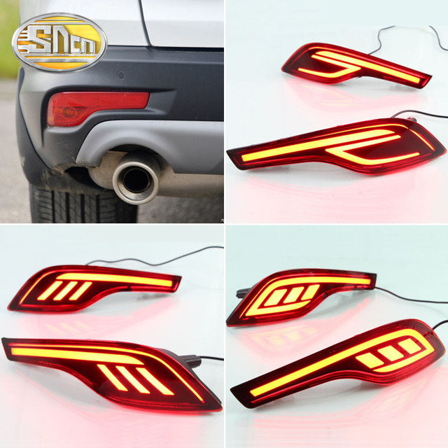 Sncn 2pcs Multi Function Led Reflector Lamp Auto Bulb Rear Fog Lamp