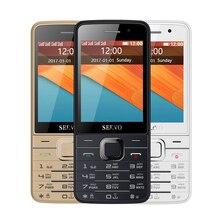 Quad SIM Carte Mobile Téléphone V9500 2.8 Pouce 1100 mAh Double Caméras lampe de Poche Bluetooth FM Radio 4 Veille Fonction Téléphone