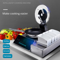 Commercial Food cooking machine automatic intelligent cooking pot Multi function stir fried cooking robot fried dishes machine