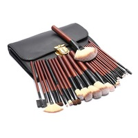 26pcs Makeup Brushes Kit Pro Face Beauty Foundation Make Up Contour Concealer Eyeshadow Lip Blending Brushes With Cosmetic Bag