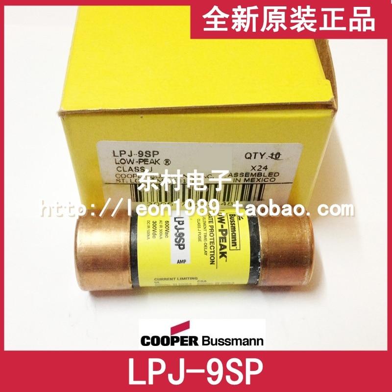 [SA]US imports fuse LOW-PEAK fuse BUSSMANN LPJ-9SP 9A 600V--3PCS/LOT [sa]original us bussmann fuse fusetron class frs r 100 600v 100a 3pcs lot