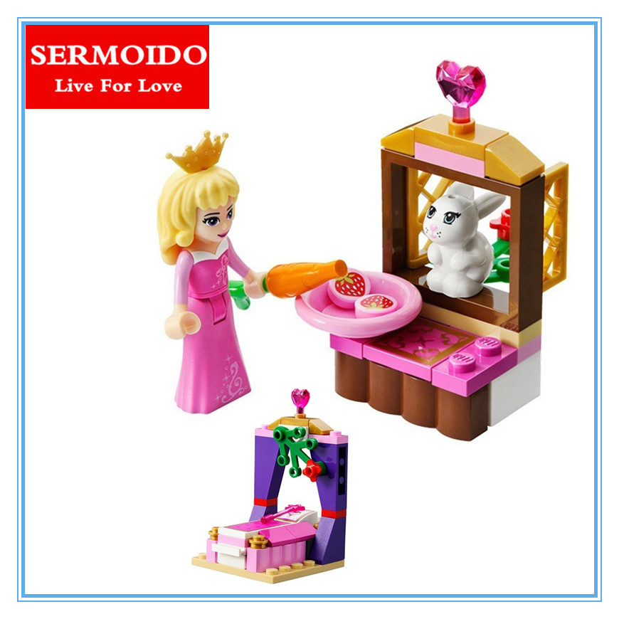 New BELA Blocks Friends Sleeping Beauty Building Bricks Sets Educational toys Compatible Lepin princess Toys For Girls new bela friends series girls princess jasmine exotic palacepanorama minifigures building blocks girl toys