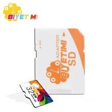 Carte mémoire Biyetimi carte micro SD 8g 16g 32g 64g mini carte tf classe 10 carte flash de capacité réelle pour Smartphone
