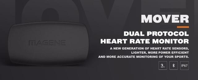 Bluetooth4.0 ANT + Sensor de frecuencia cardíaca Compatible GARMIN Bryton IGPSPORT Ordenador de bicicleta deporte Monitor de ritmo cardíaco correa de pecho