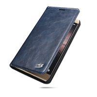 Negócio Caso do telefone Móvel Para Huawei Companheiro 9 9pro Cobertura De Luxo Genuína Carteira Carteira de Couro Bolsa Livro Telefone Fundas Coque Enseada