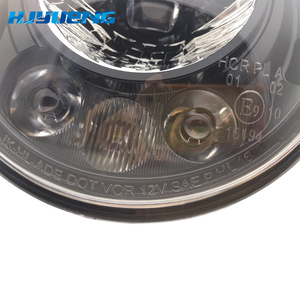 Image 4 - 2pcs Per Wrangler JK 2 Porta 2 Hummer H1 H2 7 pollici Fari A LED Per Lada 4x4 urbano Niva 2007 ~ 2016 Per Suzuki Samurai