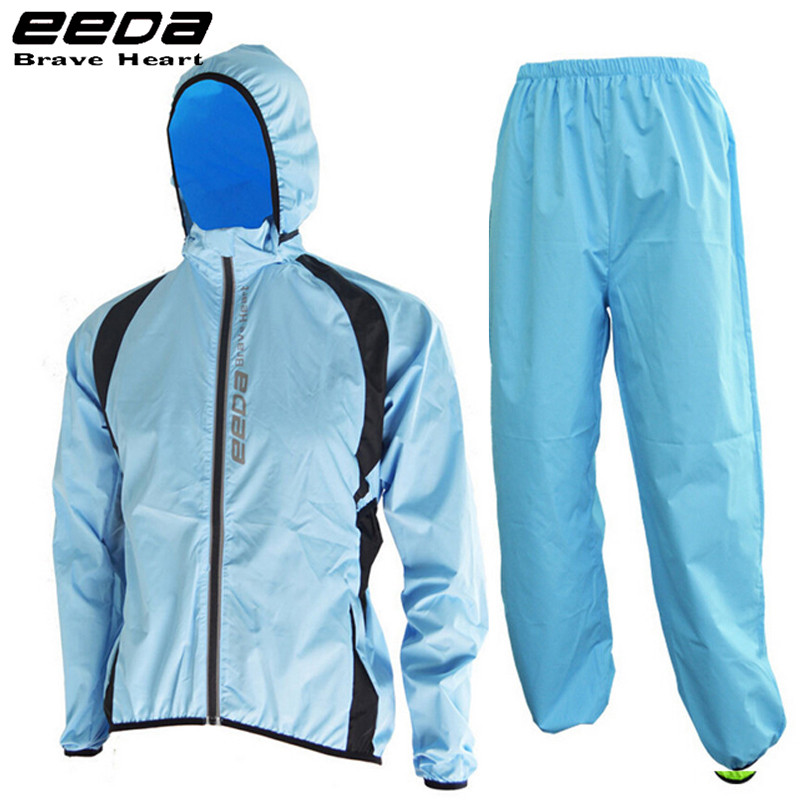 ФОТО EEDA Hooded Poncho Outdoor Sport Jacket Windproof Waterproof Raincoat Riding Mountain Bicycle Bike Cycling Raincoat Jersey