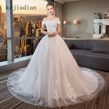 kejiadian Wedding Dresses 2018 A-Line long sleeve