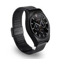 X10 Steel Band Smart Watch With LCD HD Full Circle Display Bluetooth 4.0 Smart Sleep Monitor With Knob Regulator
