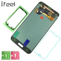 IFEEL Super AMOLED LCD For SAMSUNG S5 i9600 G900 LCD Display + Touch Screen Replacement For Samsung S5 Display