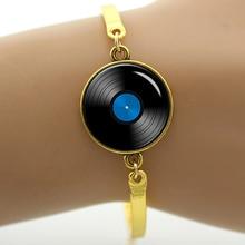 Vinyl Record bracelet / 3 Colors