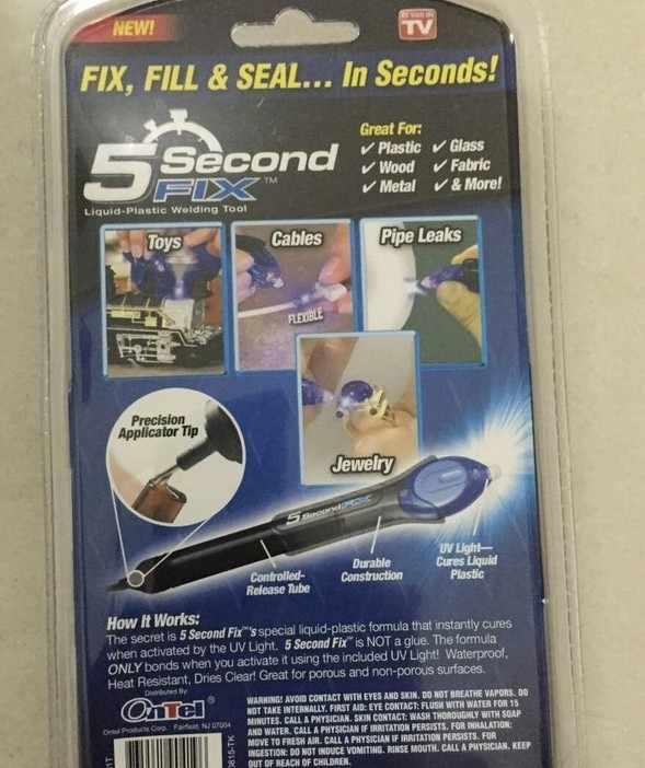 1 قطعة 5 ثانية إصلاح الأشعة فوق البنفسجية ضوء أداة إصلاح مع الغراء سوبر بالطاقة السائل البلاستيك لحام مجمع