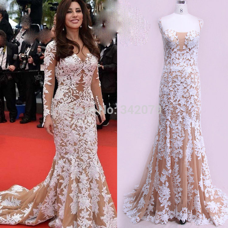 ph09969 real sample photos Appliques evening Gown Zuhair Murad ...
