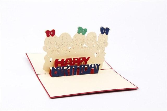Ynaayu 1pcs 3d happy birthday greeting cards handmade design ynaayu 1pcs 3d happy birthday greeting cards handmade design beautiful words card wedding bithday card party m4hsunfo
