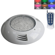 12V Boat Plastic RGB LED Underwater Light with Remote Controller 6W 24W Swimming Pool Pond Lamp Waterproof