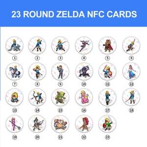 Image 3 - La carta dei Giochi di amiibo Compatibile Zelda 23 NFC Carta di Turno 20 Cuore Lupo The Legend of Respiro del selvaggio NS Interruttore