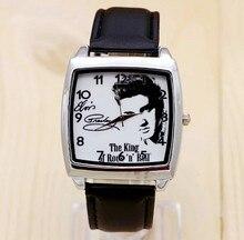 2017 Элвис Пресли Часы Для женщин Мода кварцевые часы женские элегантное платье часы Relogio feminino Часы Montre Femme