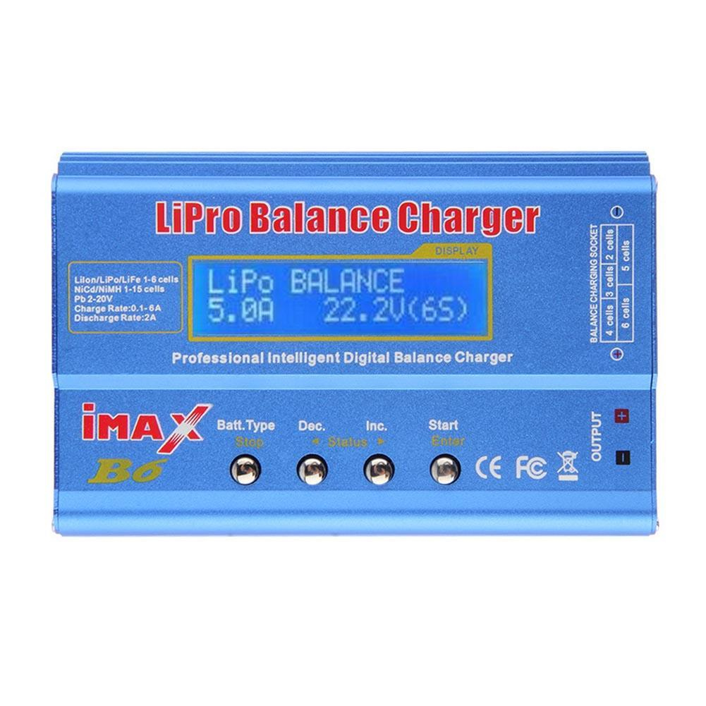 iMAX B6 80W 6A Digital RC Battery Balance Charger Discharger 50W 5A Optional for 1-6s Lipo life NiMh Li-ion Ni-Cd доска для объявлений dz 1 2 j8b [6 ] jndx 8 s b
