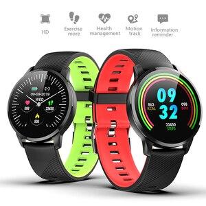 Image 4 - LUIK Sport Smart Armband hartslag Bloeddrukmeter Weer Display Stappenteller Polsband Smartwatch Voor Android ios + Box