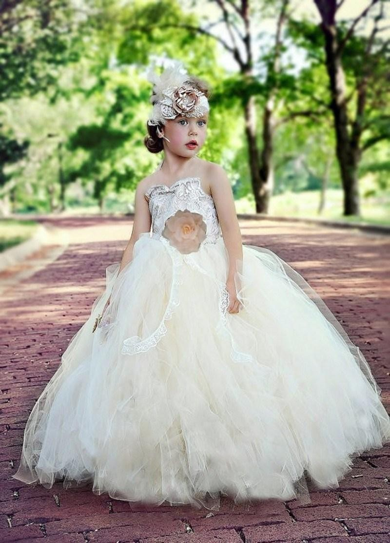 Beach wedding flower girl dresses promotion shop for for Beach wedding flower girl dresses