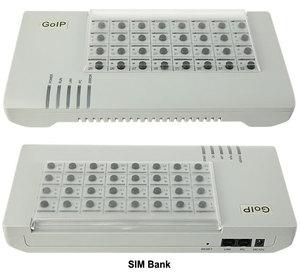 Image 2 - DBL SIM Bank SMB32 server,32 SIM CARDS SMB32 Remote SIM cards manage,emulator DBL goip(Auto IMEI Changeable+Auto SIM Rotation)