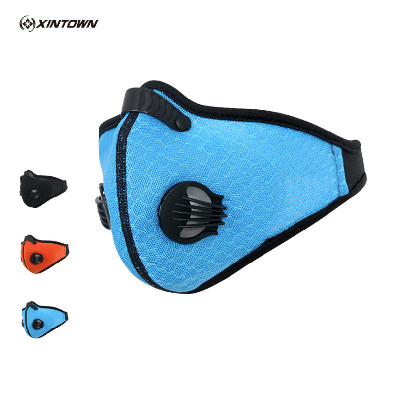 YOUGLE Cycling Mask 2017 Activated Carbon Half Face Sports Bicycle Bike Training Mask Dust Mask w/ Filter rockbros bike cycling anti dust half face mask with filter neoprene size s