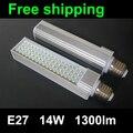 PF 0.9 New 14W E27 socket select LED Corn Bulb Lamp Bombillas Light SMD 5050 Spotlight 120 Degree AC85-265V