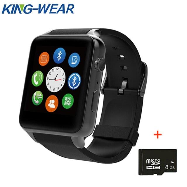 5b2a385703f Original Kingwear Iluminação GT88 Smartwatch Relógio Inteligente Monitor de Freqüência  Cardíaca Do Bluetooth relógio Inteligente Apoio