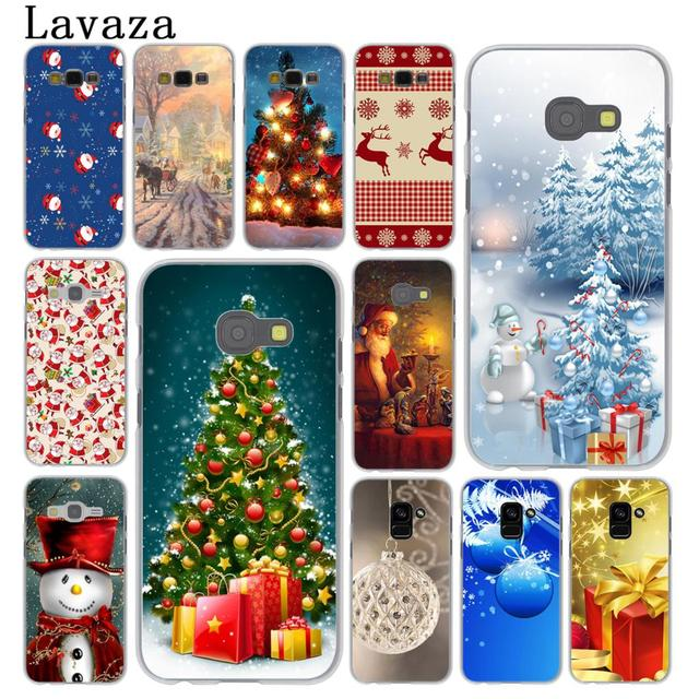 lavaza christmas snow santa tree new year case for samsung galaxy a5 a3 2015 2016 2017
