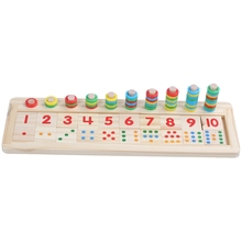 Puzzle wooden Toy Preschool Children Wooden Toys Dominos Counting and Board Stacking Educational toys