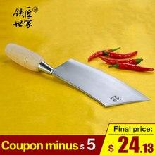 Cleaver knife kitchen knives chinese handmade stainless steel Slicing vegetable fruit meat ножи кухонные
