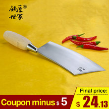 Cleaver knife kitchen knives chinese handmade stainless steel Slicing knife vegetable fruit meat knife ножи кухонные