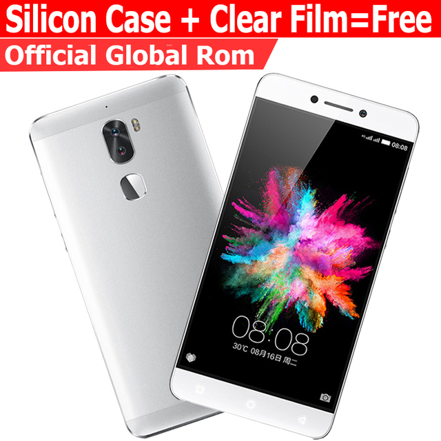 "Original Leeco cool1 3G RAM 32G ROM  Letv Cool 1 4G LTE Mobile Phone  Android 6.0  5.5"" FHD  Dual Rear Camera Fingerprint ID"