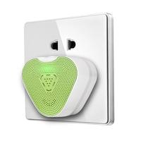 Detector De Monóxido De Carbono CO Detector Sensível EUA Plug Doméstico Mini HouseholdCO Medidor de Gás Combustível Alarme de Vazamento de Gás Para Casa