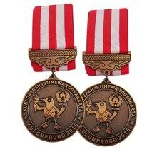 Custom Zinc Alloy Medal High Quality Bronze Bird Logo 3D madal