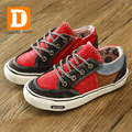 Zapatos de los niños de Boys & Girls Patchwork Zapatillas de deporte de Moda Niños Zapatos Casuales Niños Sneakers Nuevo 2017 Primavera Zapatos De Lona De Caucho
