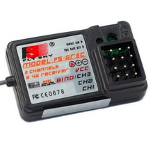 1 Pcs Standard Fs-Gr3E 2.4Ghz 3-Channel Receiver For Rc Car Auto Boat Hot Sale