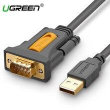 Ugreen USB to RS232 COM Port Serial PDA 9 DB9 Pin Cable Adapter Prolific pl2303 for Windows 7 8.1 XP Vista Mac OS USB RS232 COM