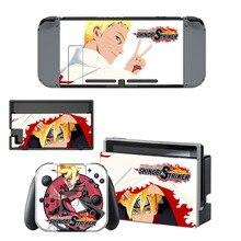 Nintendo Switch Vinyl Skins Sticker For Nintendo Switch Console and Controller Skin Set – For Anime Naruto to Boruto