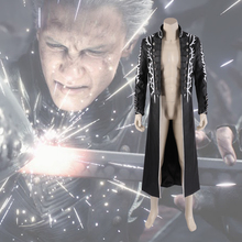 Manluyunxiao DMC 5  Vergil Jacket Christmas Cosplay Costume Adult Custom Halloween DEVIL BRINGER