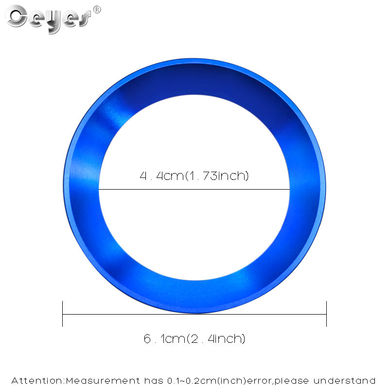 Car steering wheel decoration circle ring sticker for BMW (16)