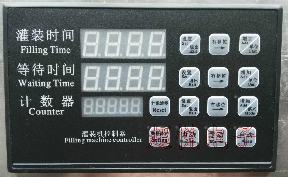 Liquid Filling Machine Controller AC220V Filling Machine Parts Time Control Panel Filling Machine Controller Parts