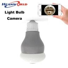 360 градусов Panoramin Смарт Домашней Безопасности Wi-Fi VR Камеры Лампы LED Видеонаблюдения Видеокамера поддержка PC мобильного телефона просмотр