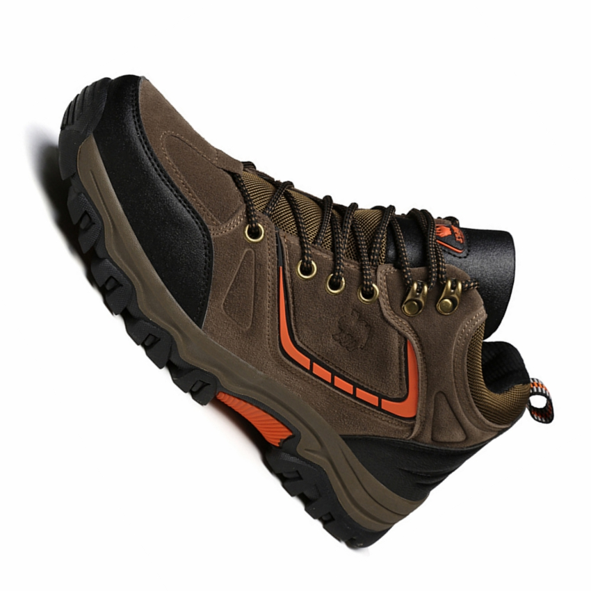 men high top hiking shoes waterproof non slip outdoor climbing trekking shoes men sport camping walking shoes hiking sneakers