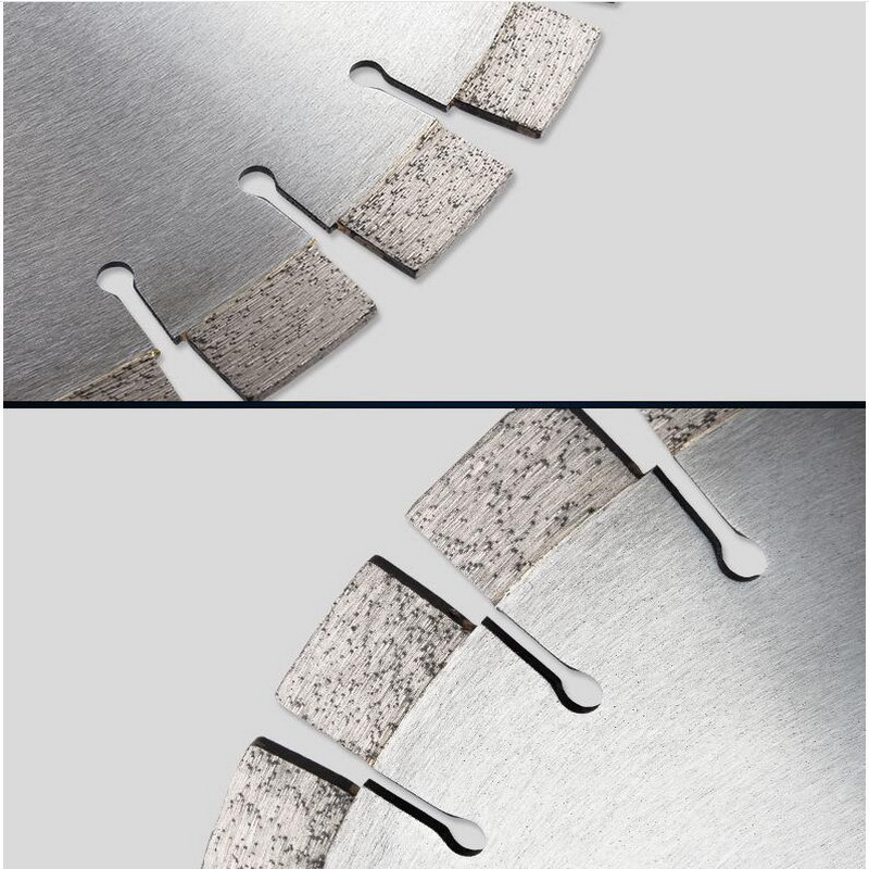 On Sale Of 1PC 350/400/450/500*50*15mm Great Wall Form Segmented Silver Welded Diamond Saw Blades Specially For Hard Granite