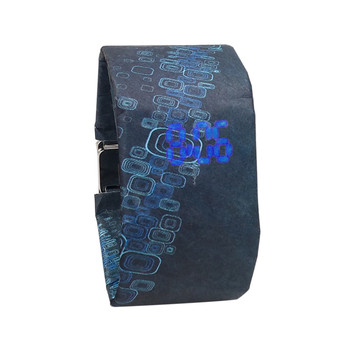 2020 Trendy DIGITAL LED Watch Paper Water/Tear Resistant Watch Perfect Gift 12 Variants  5