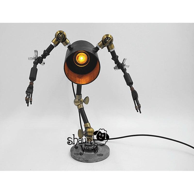 시원한! 소설과 창조적 인 성격 복고풍 기계 'frozen'robot bar diy 미국 국가 산업 바 호텔 레스토랑-에서라이트업 장난감부터 완구 & 취미 의  그룹 2